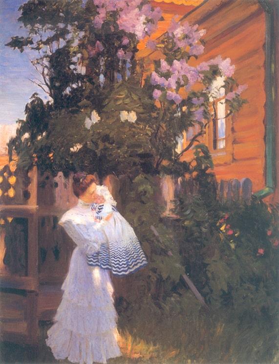 Б. М. Кустодиев «Сирень», 1906 © ГРМ