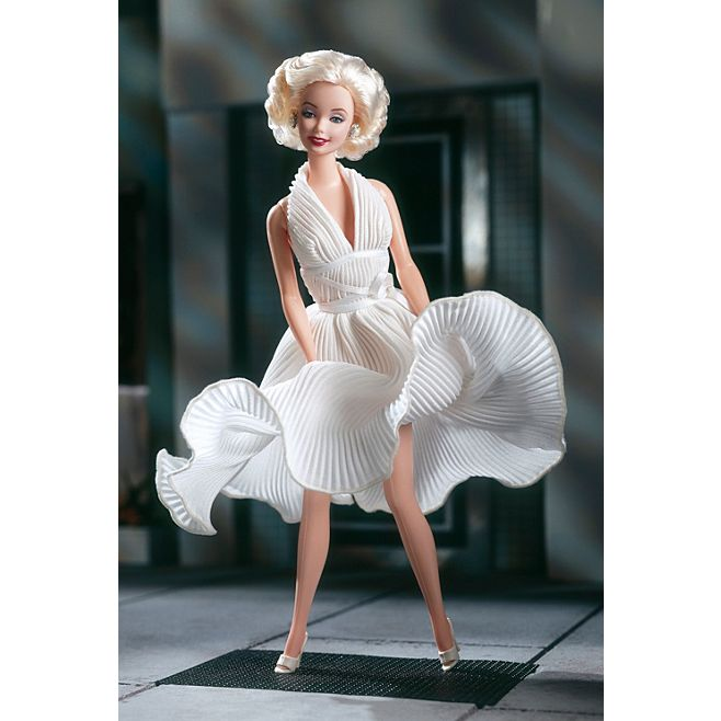 Barbie® as Marilyn™ in the White Dress from The Seven Year Itch © barbie.mattel.com