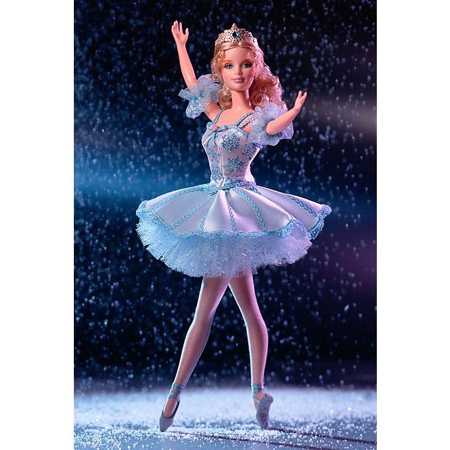 Barbie® Doll as Snowflake in The Nutcracker © barbie.mattel.com