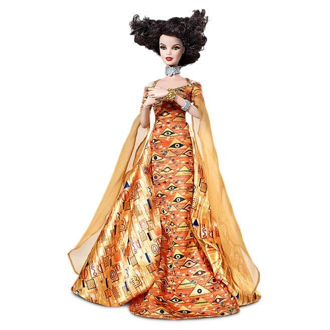 Barbie® Doll Inspired by Gustav Klimt © barbie.mattel.com
