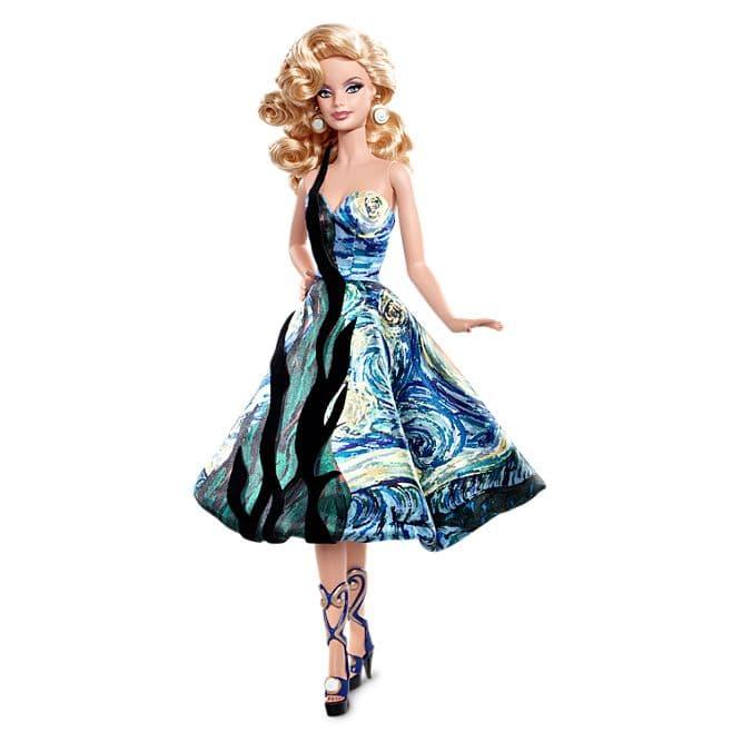Barbie® Doll Inspired by Vincent van Gogh © barbie.mattel.com