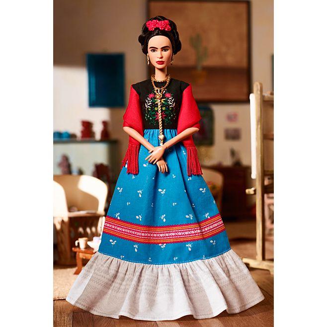 Barbie® Inspiring Women™ Series Frida Kahlo Doll © barbie.mattel.com