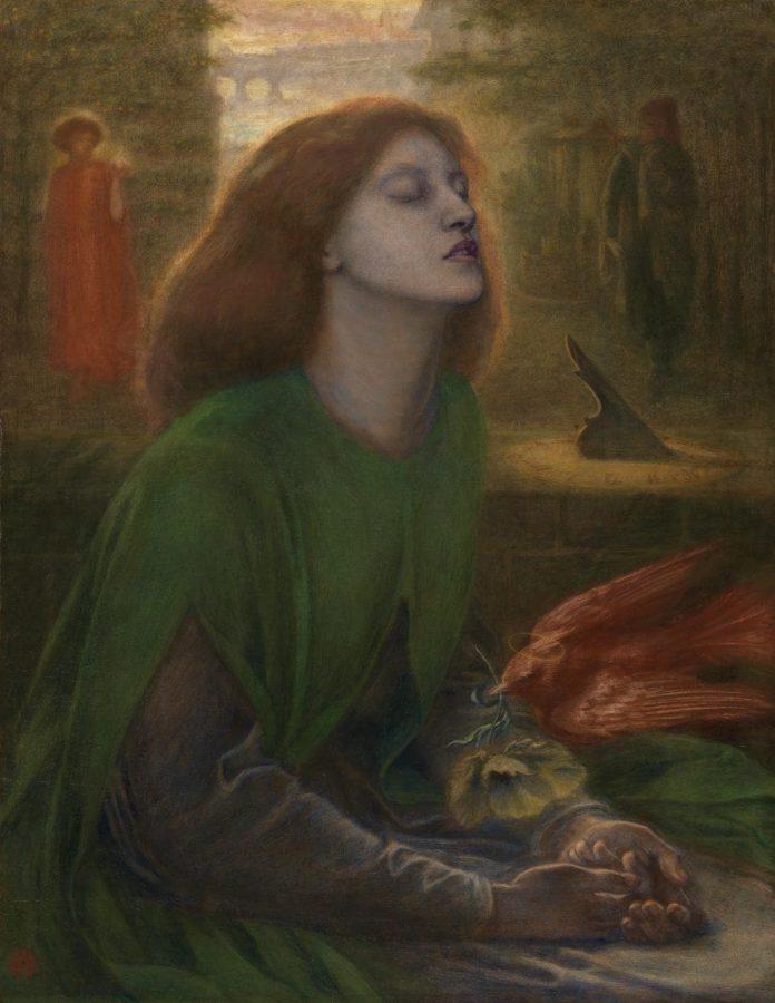 Данте Габриэль Россетти «Блаженная Беатриче», 1864-1870 © Tate
