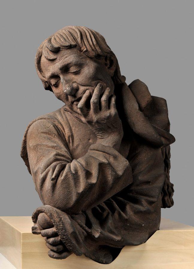 Niclaus Gerhaert van Leyden, бюст мужчины, около 1463 © Musées de Strasbourg / M. Bertola