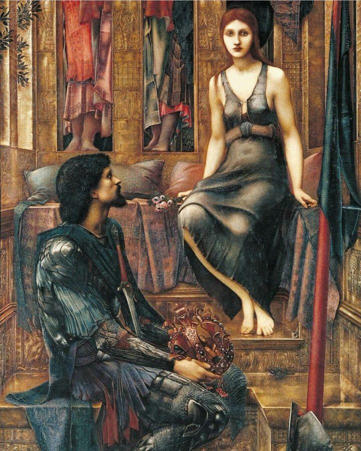 Эдвард Бёрн-Джонс «Король Кофетуа и нищенка», 1884 Tate