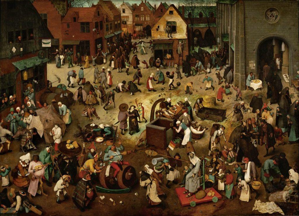 Питер Брейгель «Битва поста и масленицы», 1559 © Музей истории искусств, Вена