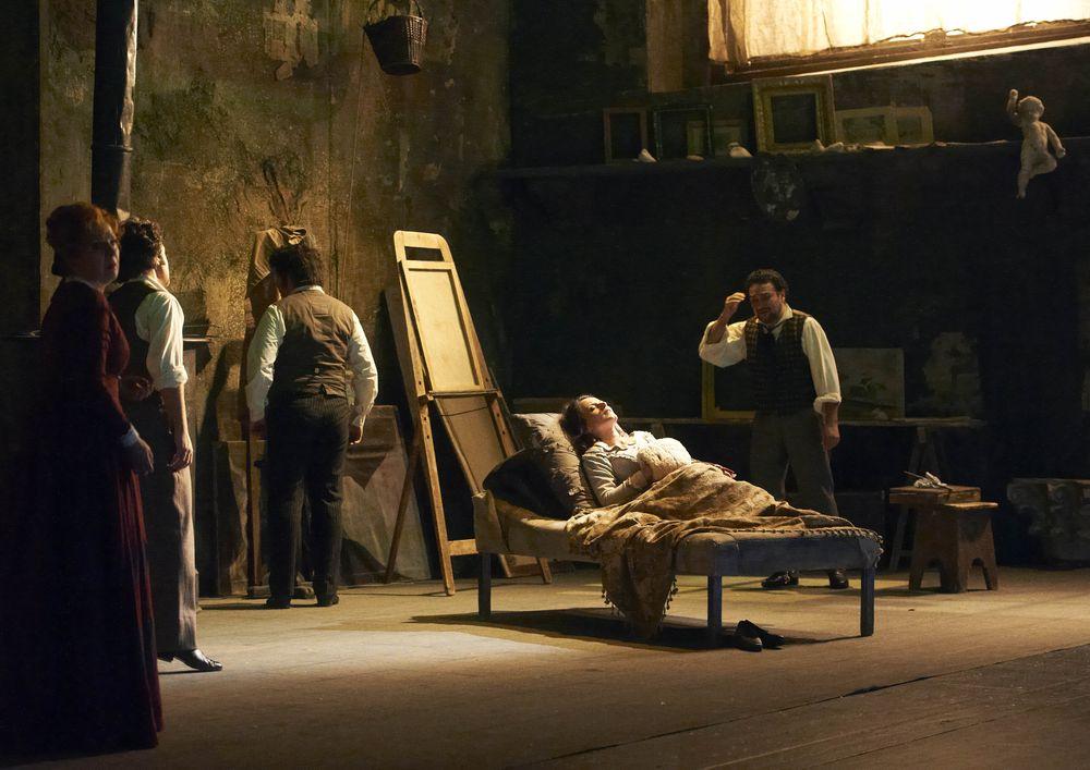 Опера Джакомо Пуччини «Богема» © Wiener Staatsoper