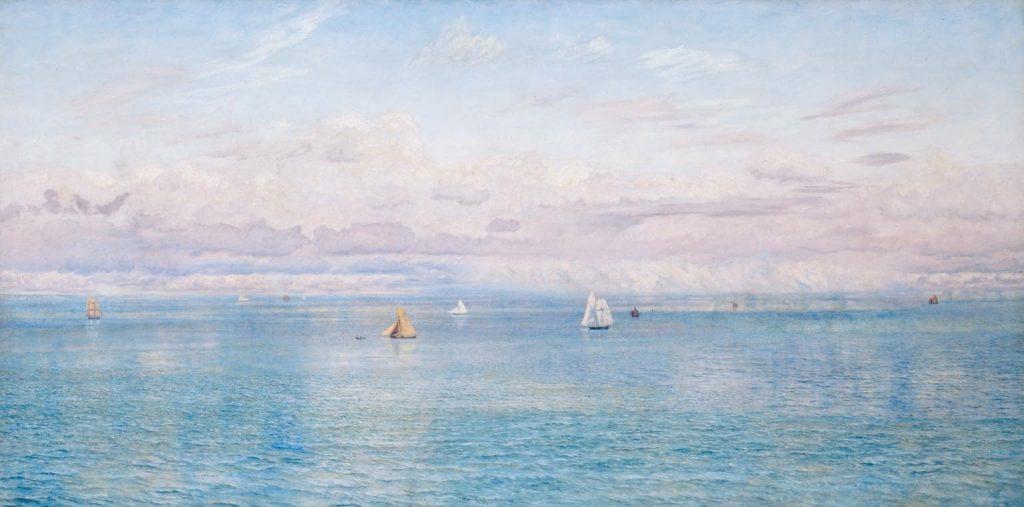 Джон Бретт «Британские владения», 1880 © Tate