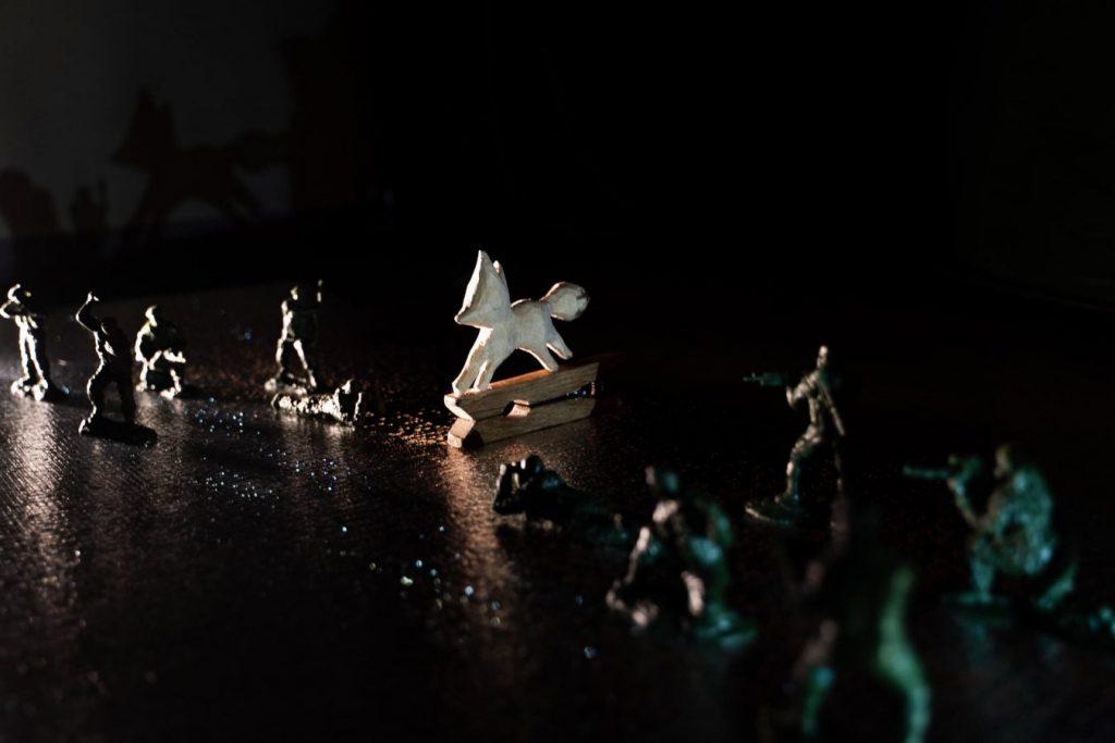 Спектакль «Лис PEACE» © БТК