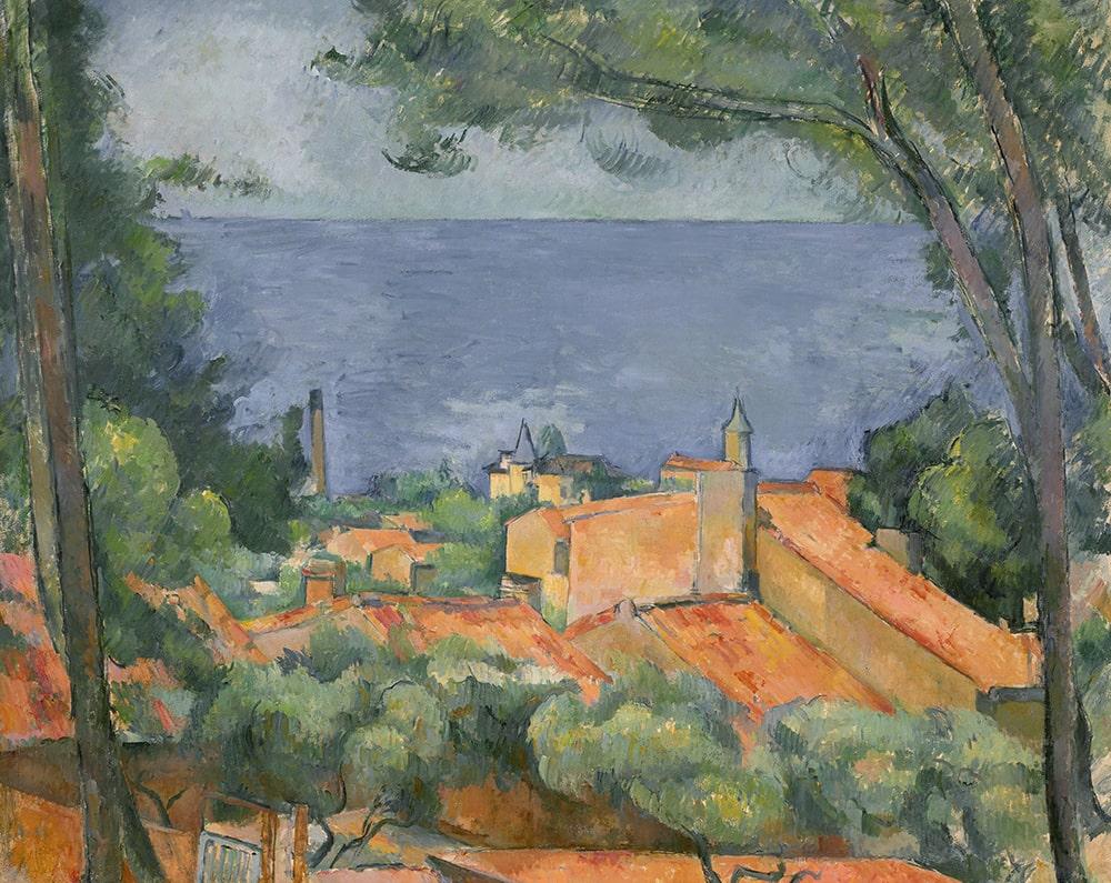 Поль Сезанн «Л'Эстак с красными крышами», ок. 1883-1885. Оценка: $35 000 000 — 55 000 000 © Christie's