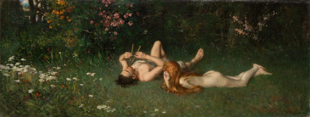 П.В. Жуковский «Дафнис и Хлоя», 1889 © ГРМ