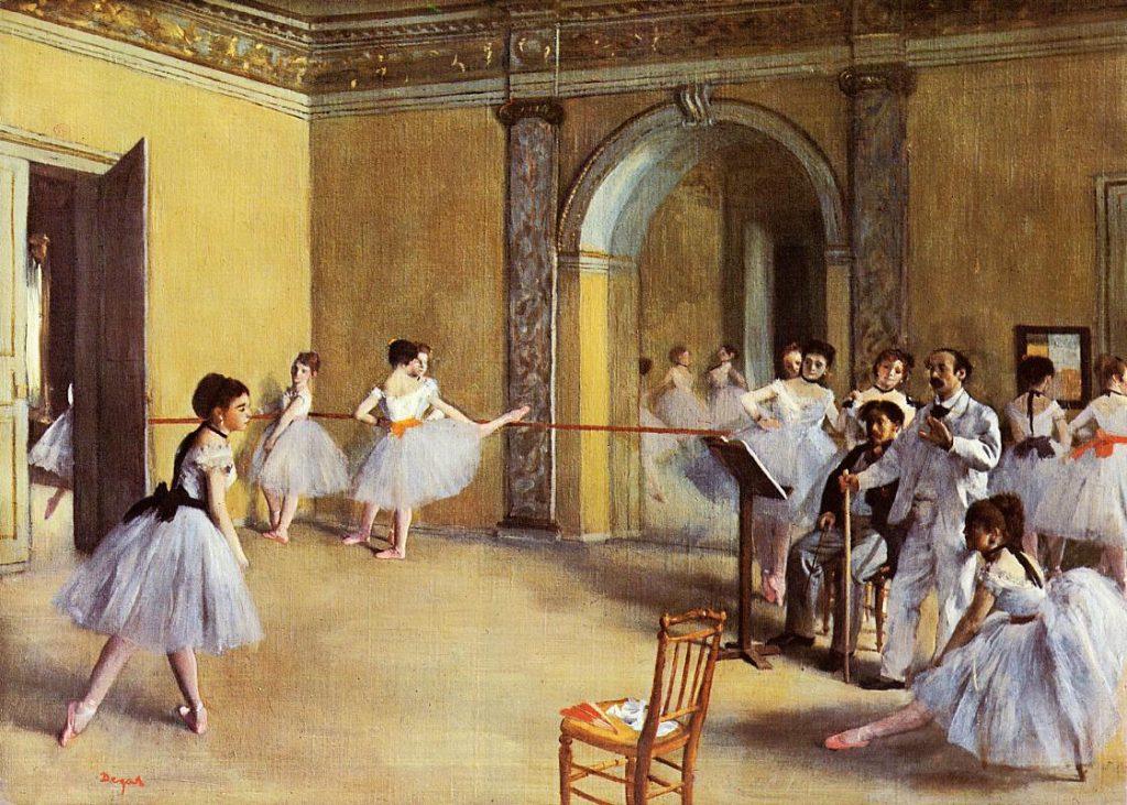 Эдгар Дега «Музыкальный класс в Опере», 1872 © Музей Орсе, Париж, Франци
