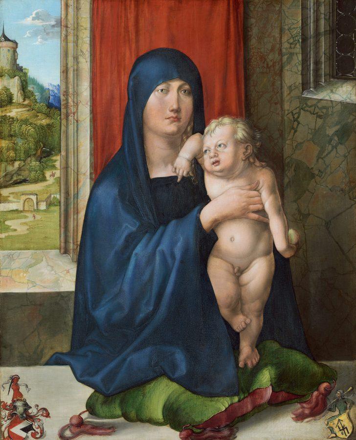 Альбрехт Дюрер «Мадонна с младенцем», 1496-1499) © The National Gallery of Art, Washington