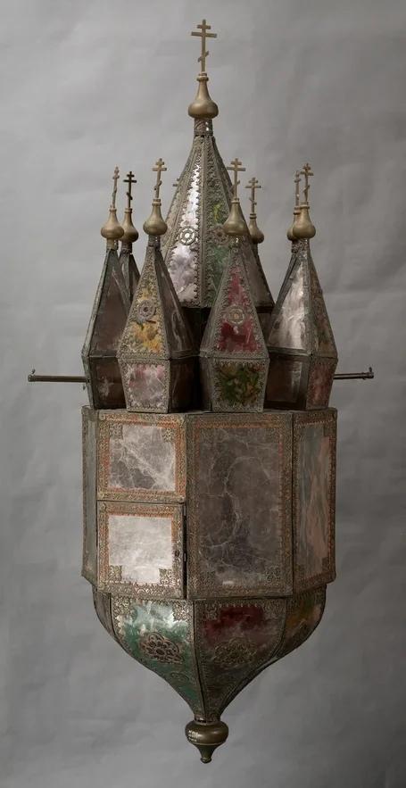 Фонарь выносной, конец ХХ века © Музей-заповедник «Коломенское»