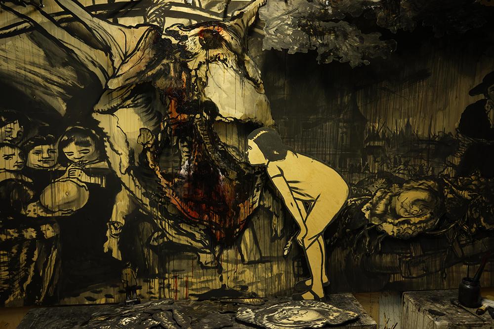 Александр Шишкин-Хокусай «Riva degli Schiavi» («Набережная рабов») © Marina Gisich Gallery