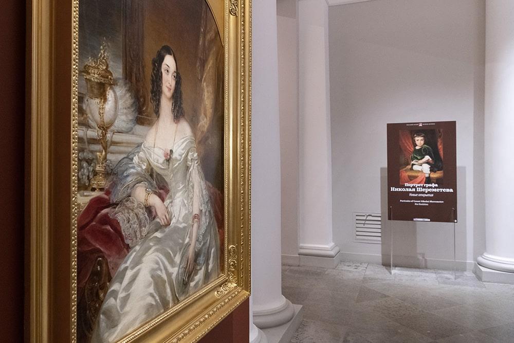 Выставка проходит в Садовом вестибюле Михайловского дворца © ГРМ