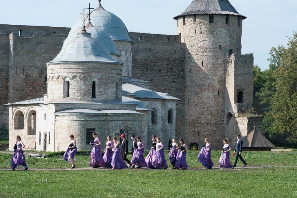 Второй хоровой фестиваль в Ивангороде. Фото Дмитрия Веселова