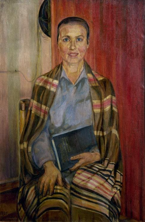 С. И. Дымшиц-Толстая (Пессати) «Председатель II съезда колхозников-ударников Е. С. Федотова», 1935–1938 © ГРМ