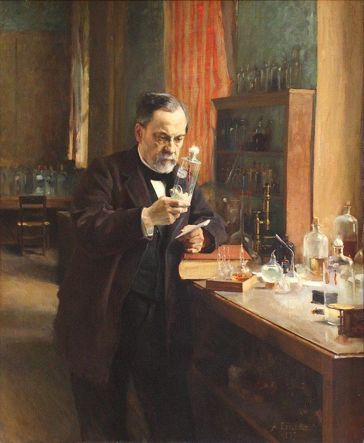 Альберт Эдельфельт «Портрет Луи Пастера», 1885 © Музей Орсе, Париж