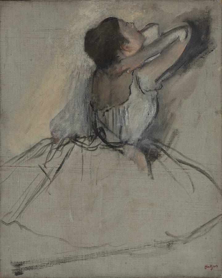 Эдгар Дега «Танцовщица», ок. 1874. Холст, масло © Государственный Эрмитаж. Фотографы: П. С. Демидов, К. В. Синявский