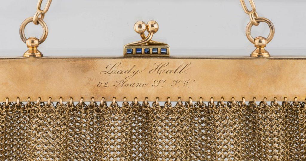 Дамская сумочка. Санкт-Петербург, 1898-1908. Фирма К. Фаберже © Музей Фаберже