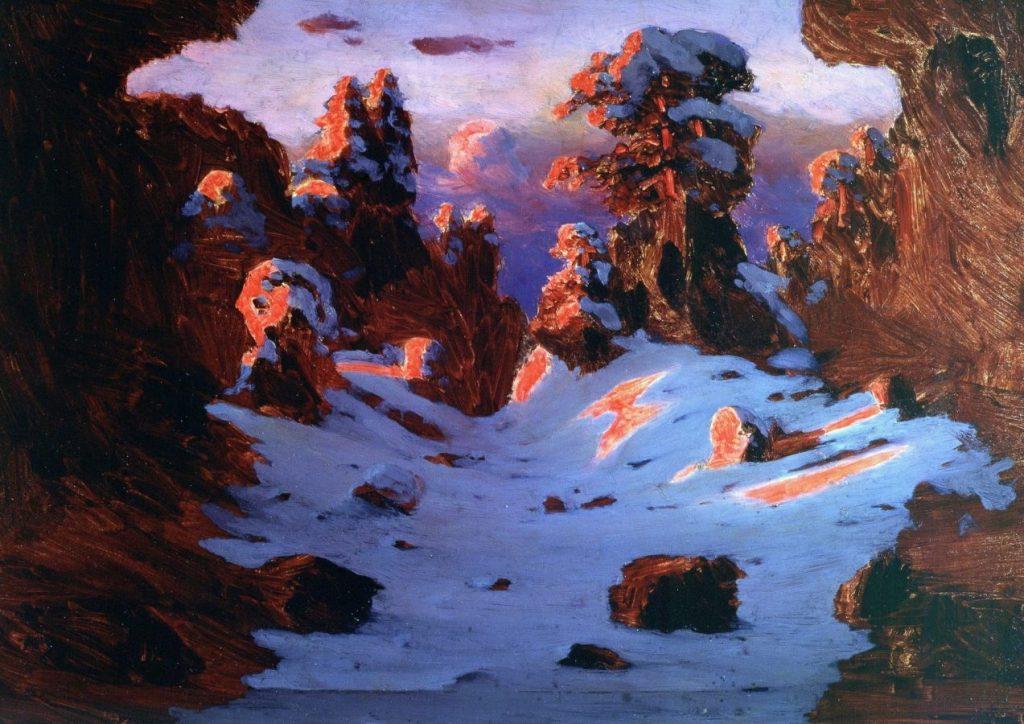 А.И.Куинджи «Эффект заката», 1906 © ГРМ