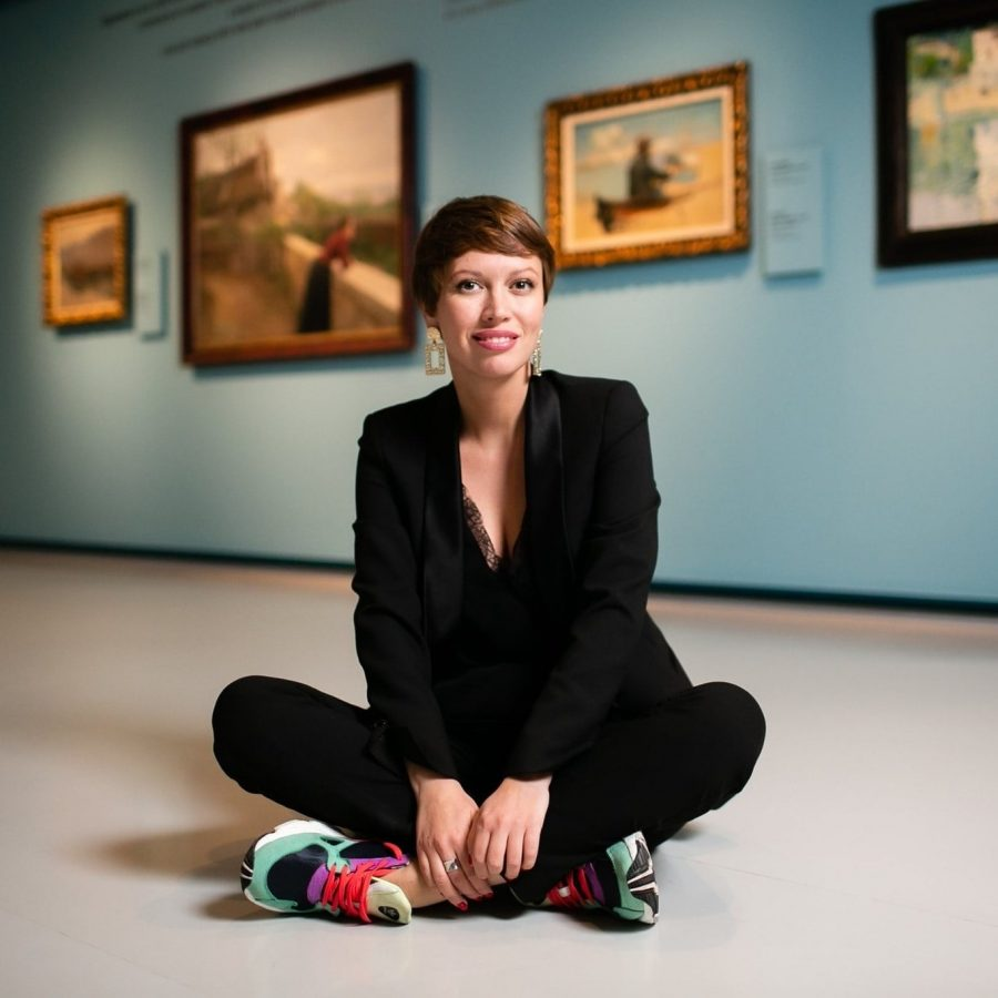 Елена Шарова, куратор просветительских и инклюзивных программ Музея русского импрессионизма