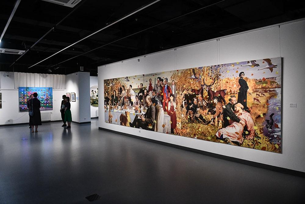 Экспозиция выставки © Галерея Синара Арт