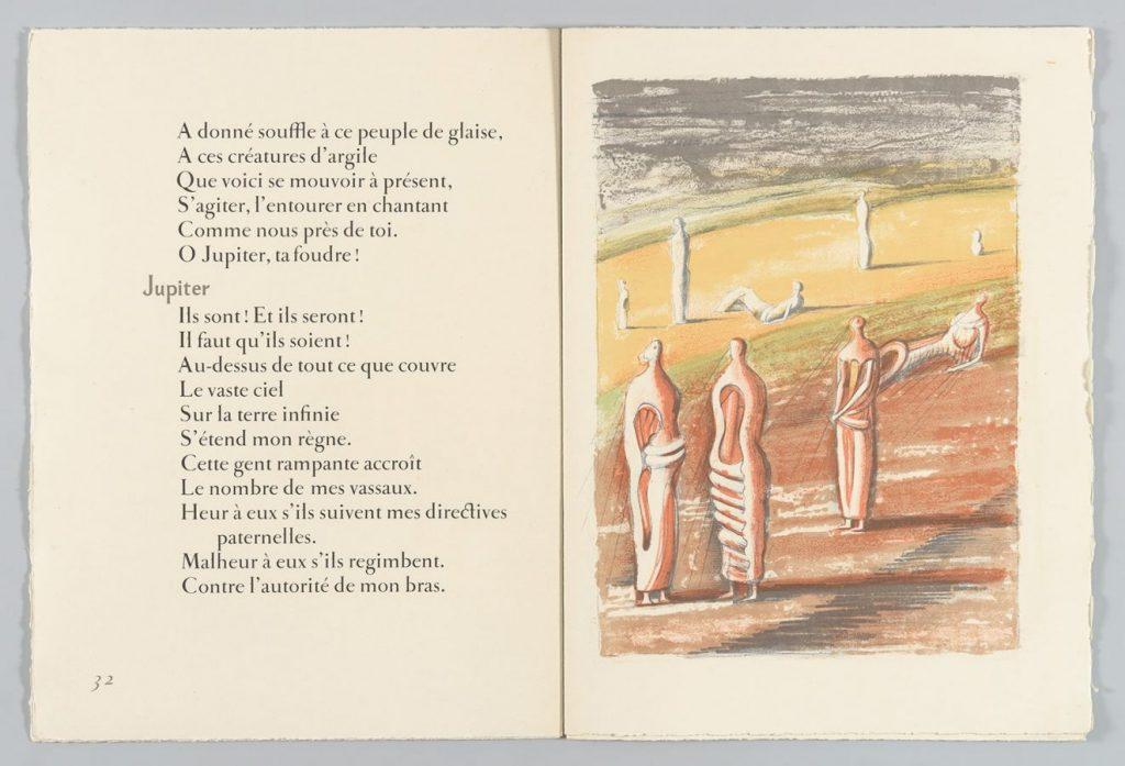 Генри Мур. Иоганн Вольфганг фон Гёте «Прометей», 1951 © Государственный Эрмитаж