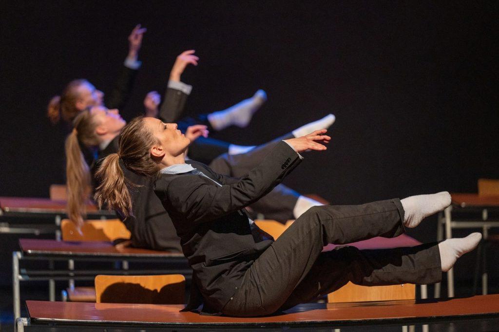 Спектакль Яна Фабра «Изменчивая сила любви» в постановке бельгийской компании «Трубляйн» © Фестиваль «Территория»