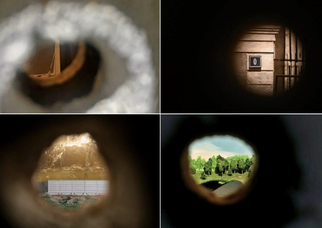 Александра Кузнецова «Складки», 2018. Дерево, диорамы, графика, фотографии, найденные объекты © Фото предоставлено автором