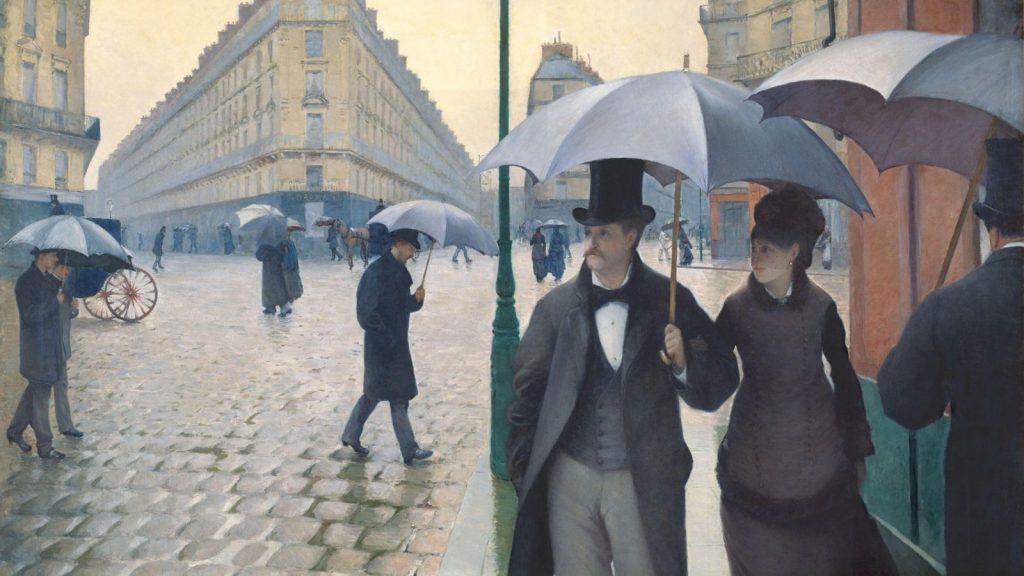 Гюстав Кайботт «Парижская улица в дождливую погоду», 1877 Институт искусств, Чикаго © Слово / SLOVO