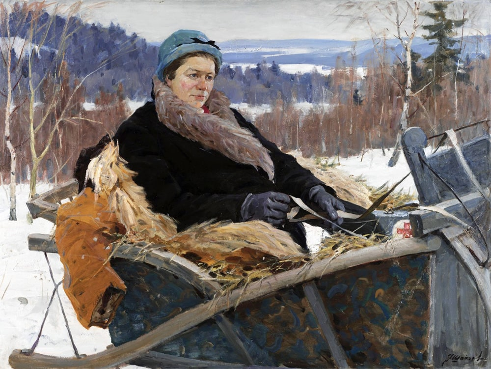 Ф.В. Шапаев «Сельский врач», 1964 © ulpravda.ru