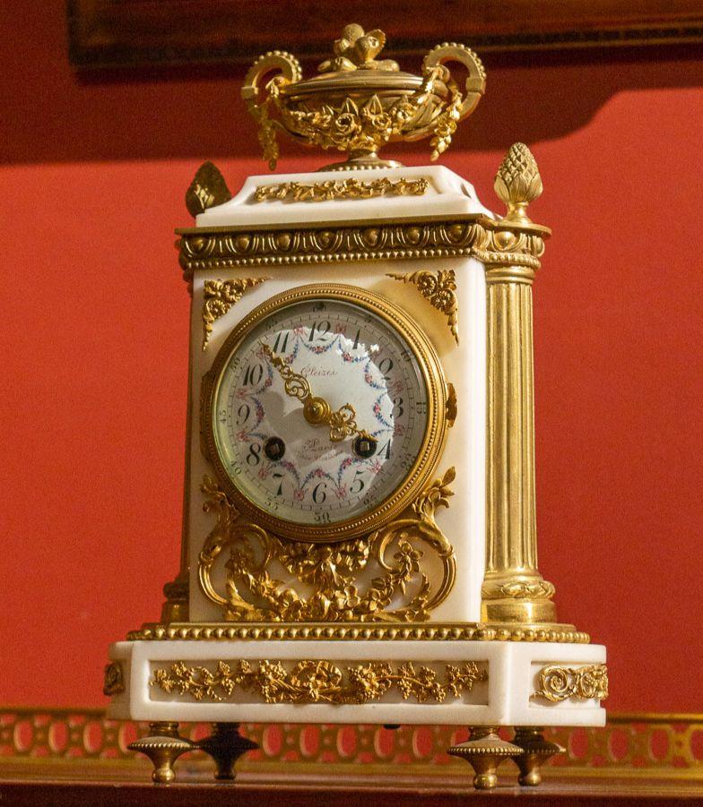 Каминные часы из коллекции братьев Ржевских © ГРМ
