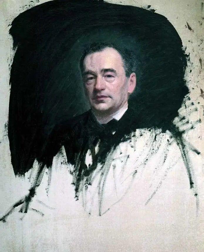 И.Н. Крамской «Портрет доктора Карла Андреевича Раухфуса», 1887 © Государственный Русский музей
