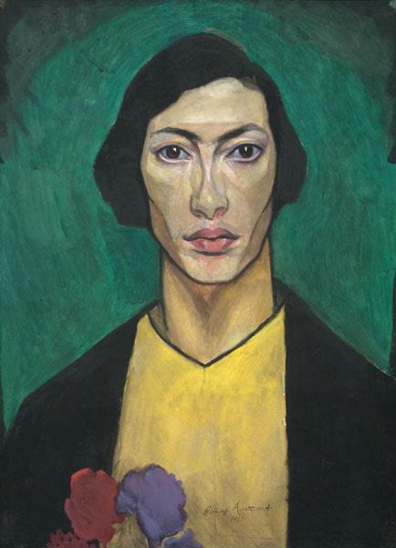 Н.И. Альтман «Автопортрет», 1911 Государственный Русский музей