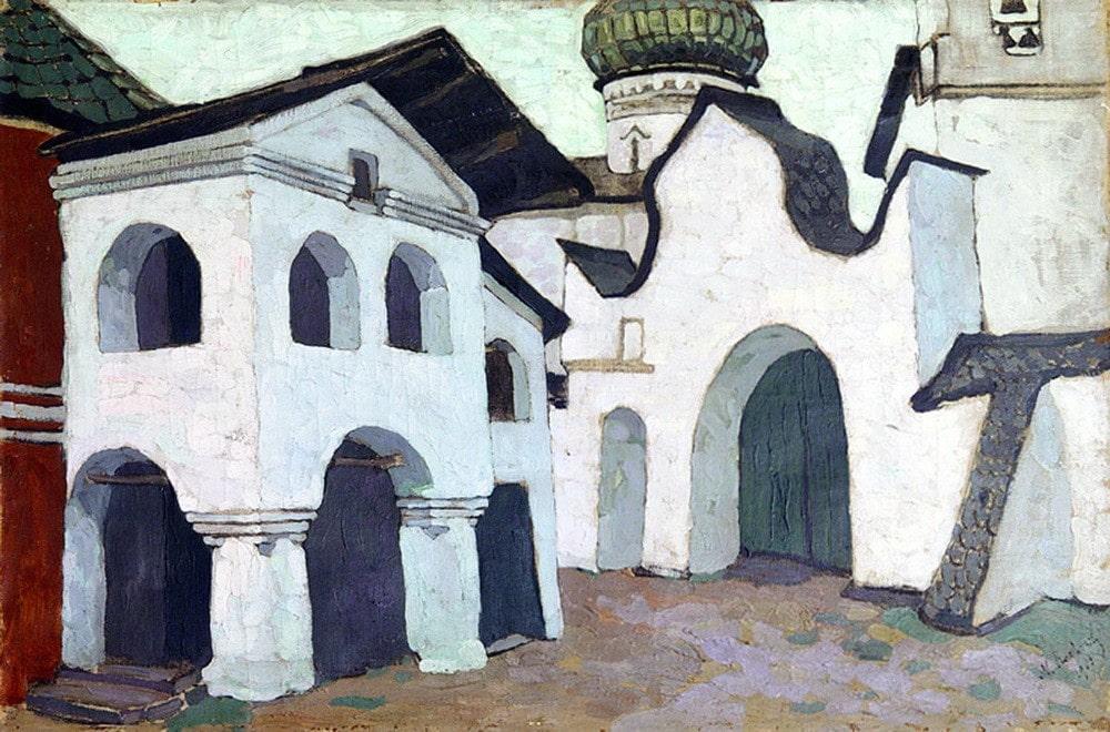 Н.К. Рерих «Псков», 1903 © Музей-усадьба Н.К. Рериха