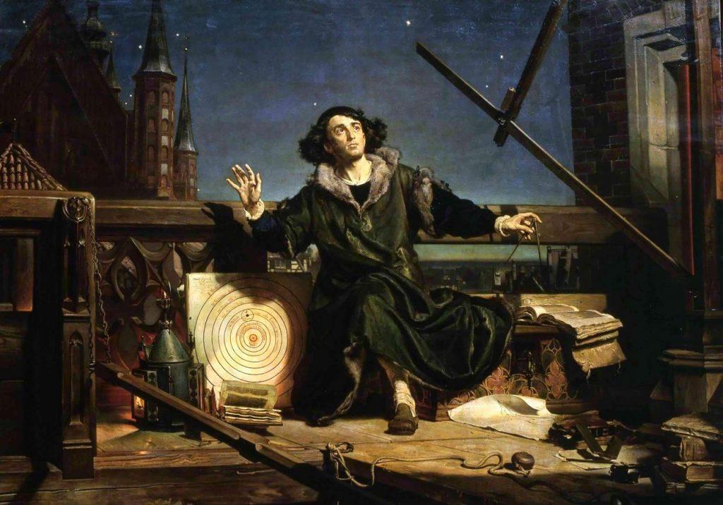 Яна Матейко «Коперник», 1873 © The National Gallery