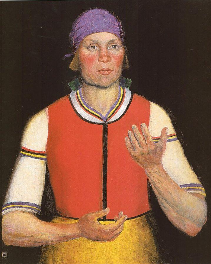 К.С. Малевич «Работница», 1933 © ГРМ