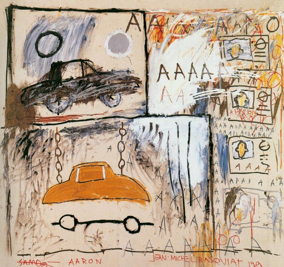 Жан-Мишель Баския «Cadillac Moon», 1981 © The Estate of Jean-Michel Basquiat / Fair use
