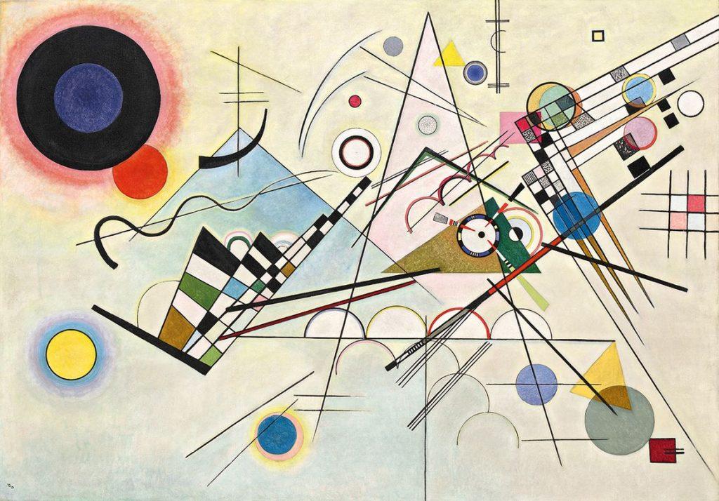 В.В. Кандинский «Композиция № 8», 1923 © Solomon R. Guggenheim Museum, New York
