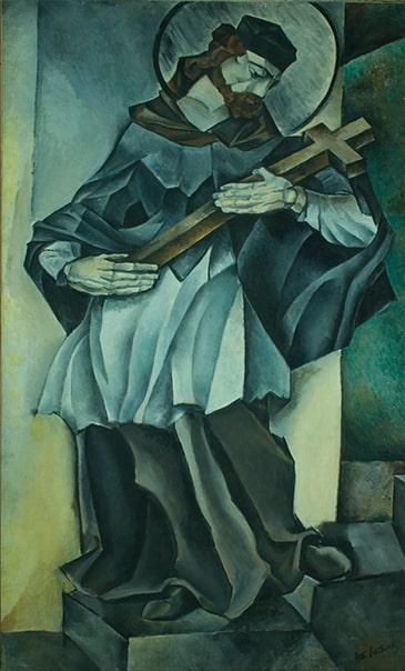 Н.И. Альтман «Католический святой», 1913