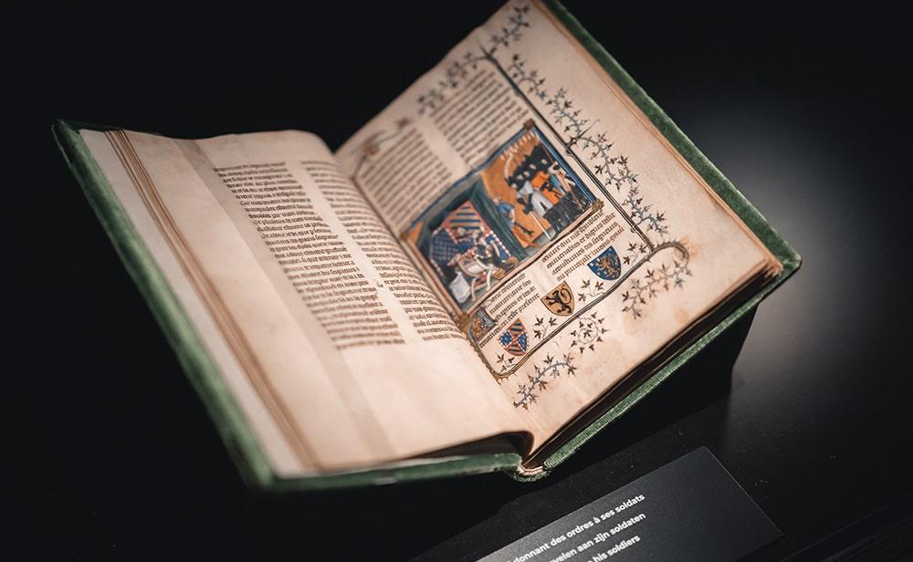 Манускрипт из коллекции Королевской библиотеки Бельгии © KBR