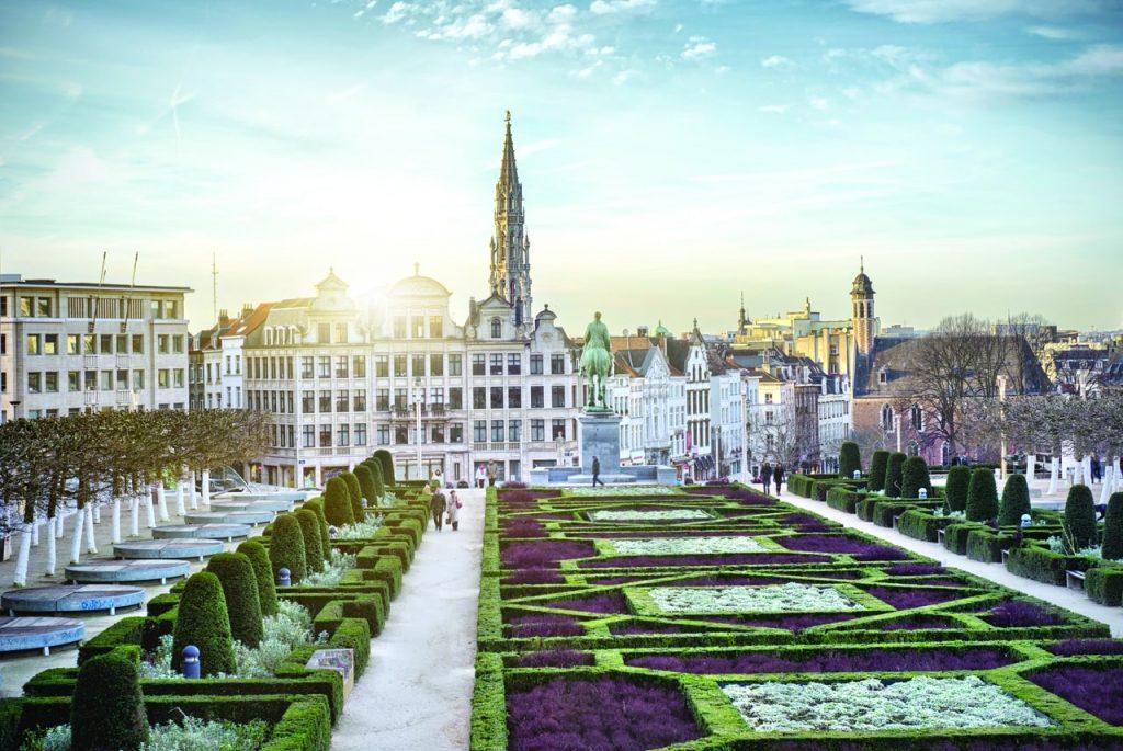 Королевская библиотека Бельгии © VISITFLANDERS