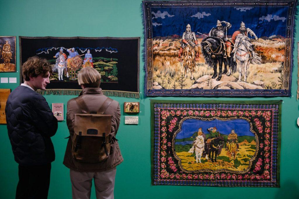 Выставка «Призракология постсоветских пространств» © HSE ART GALLERY