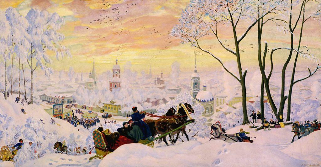 Борис Кустодиев «Масленица», 1916 © ГРМ
