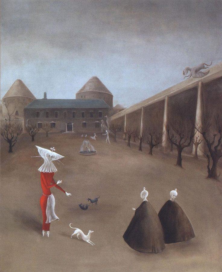 Леонора Каррингтон «Dalvaux», 1952 © Estate of Leonora Carrington