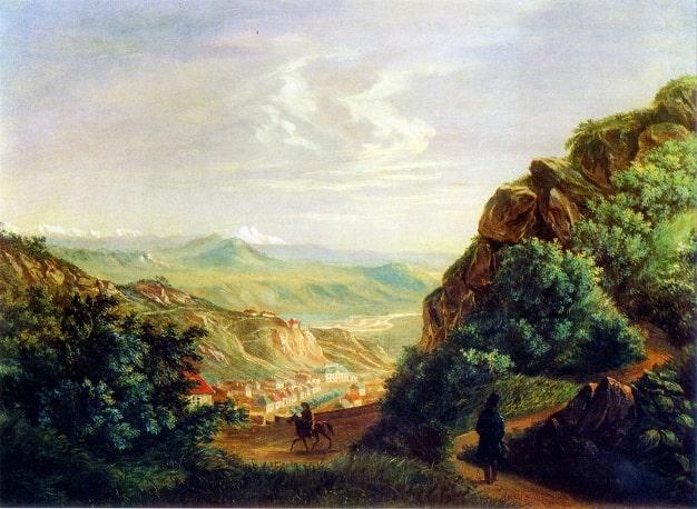 М.Ю. Лермонтов «Пятигорск», 1837 © prlib.ru