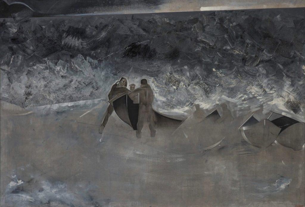 И.Л. Лизак «В бурю», 1934 © ГРМ