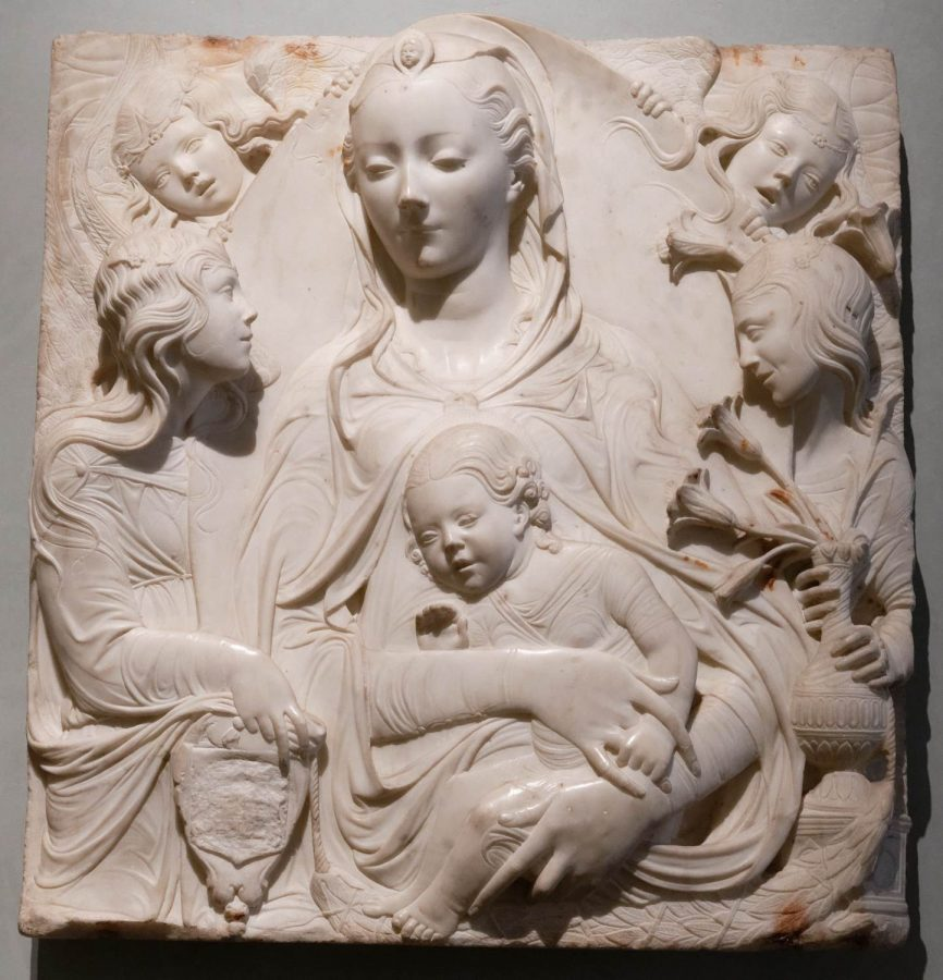 Agostino di Duccio «Virgin and Child with four angels», 1465-1470 © Thyssen-Bornemisza Collections